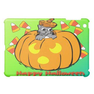 Calabaza linda de Halloween del gatito