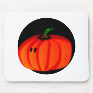 Calabaza linda de Halloween Alfombrillas De Ratones