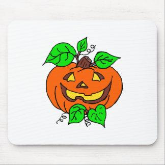 Calabaza linda de Halloween Alfombrilla De Raton