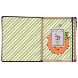 Calabaza linda de Kawaii iPad Cárcasa