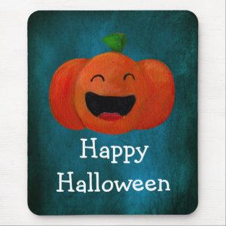 Calabaza linda del feliz Halloween Tapete De Ratón