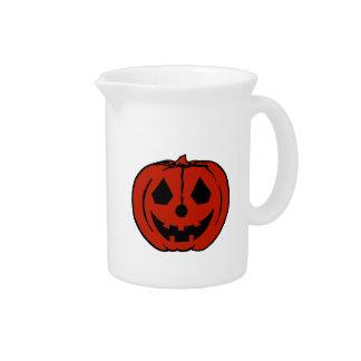 CALABAZA PAL (Jack-O-Linterna) de Halloween ~~.png Jarra Para Bebida