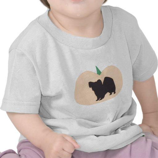 Calabaza Papillon del feliz Halloween Camiseta