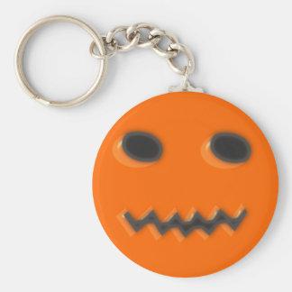 Calabaza pumpkin halloween llavero redondo tipo pin
