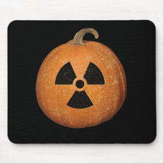 Calabaza radiactiva alfombrilla de ratón