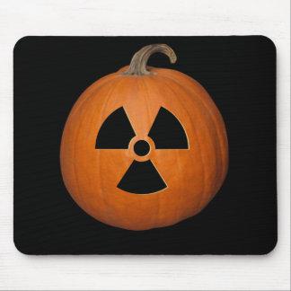 Calabaza radiactiva mouse pads