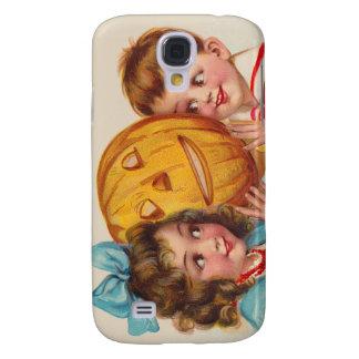 Calabaza sonriente de la linterna de Jack O de los Funda Para Galaxy S4