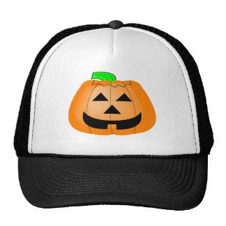 Calabaza tallada feliz gorras