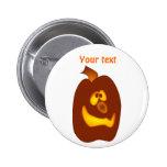 Calabaza torpe de la Jack-o-Linterna de Halloween  Pin