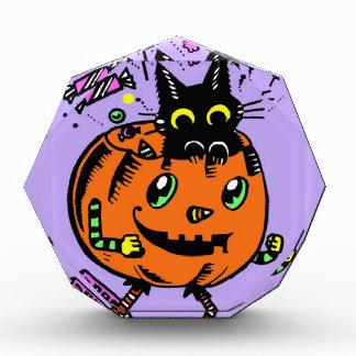 Calabaza y gatito Peppy Halloween