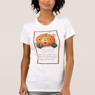 Calabaza y ratón - camiseta de Halloween