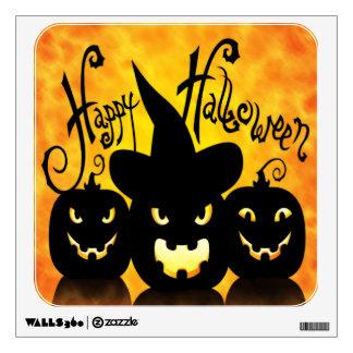 Calabazas asustadizas de Halloween