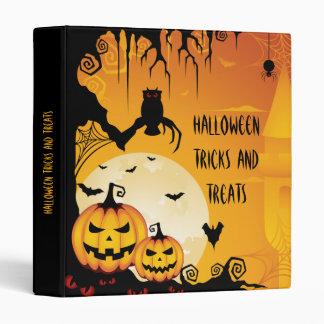 """Calabazas asustadizas de Halloween y Luna Llena Carpeta 1"""""""
