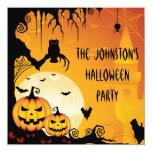 Calabazas asustadizas de Halloween y Luna Llena Comunicado Personal