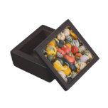 Calabazas, calabazas y calabazas de otoño caja de recuerdo de calidad