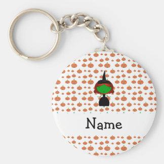 Calabazas conocidas personalizadas del naranja de  llavero
