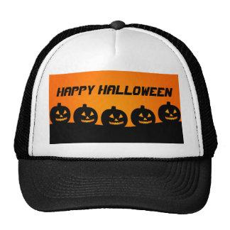 Calabazas de Halloween Gorras
