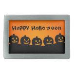 Calabazas de Halloween Hebillas De Cinturon Rectangulares