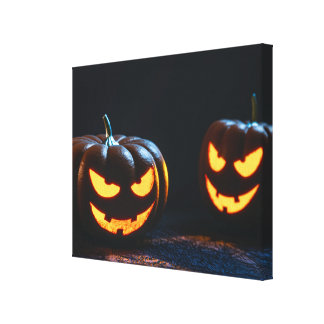 Calabazas de Halloween Lona Estirada Galerías
