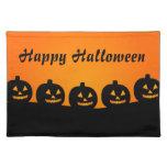 Calabazas de Halloween Mantel