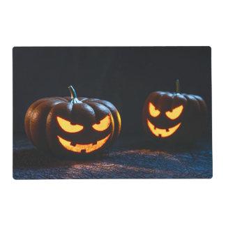 Calabazas de Halloween Salvamanteles