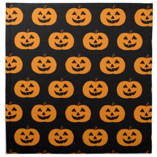 Calabazas de Halloween Servilletas