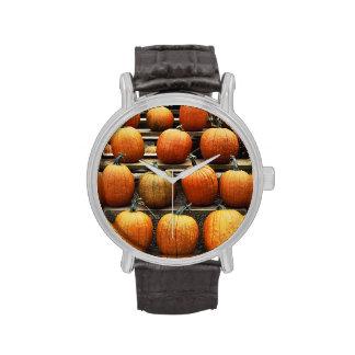 Calabazas de la caída relojes