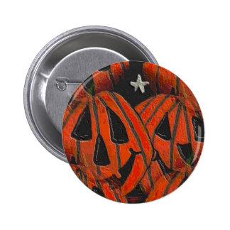 Calabazas, de las calabazas botón de Halloween por