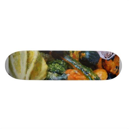 Calabazas de lujo patineta personalizada