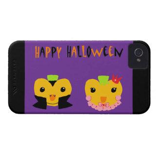 Calabazas del feliz Halloween iPhone 4 Fundas