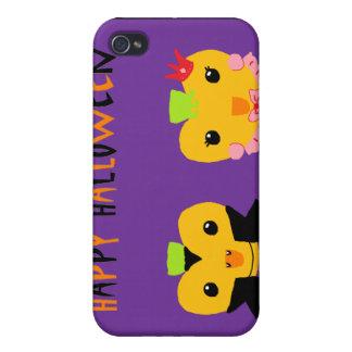 Calabazas del feliz Halloween iPhone 4/4S Carcasa