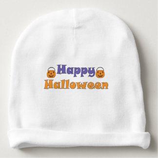 Calabazas del feliz Halloween Gorrito Para Bebe
