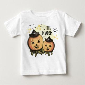 Calabazas del vintage de Halloween… - modificado Playera De Bebé
