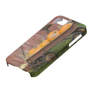 Calabazas en carro viejo funda para iPhone SE/5/5s