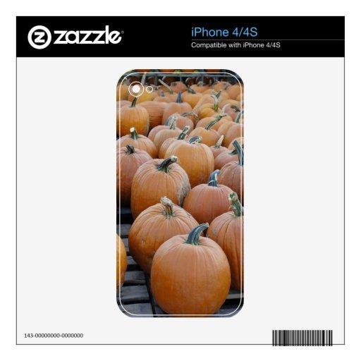 Calabazas en desfile iPhone 4 skins