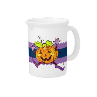 Calabazas felices Halloween Jarron