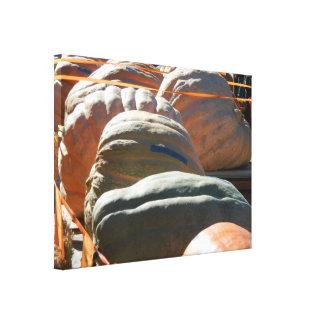 Calabazas gigantes impresiones en lona