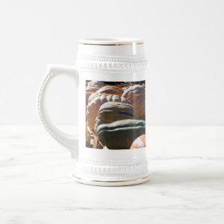Calabazas gigantes taza de café