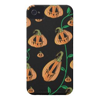 Calabazas lindas Halloween Case-Mate iPhone 4 Cárcasas