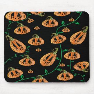 Calabazas lindas Halloween Alfombrillas De Ratones