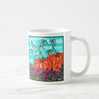 Calabazas listas taza de café