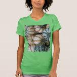 Calabazas multicoloras de la cosecha del otoño camiseta