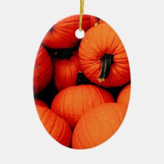 Calabazas para la caída ornamentos de navidad