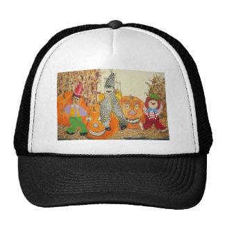 calabazas sonrientes gorra