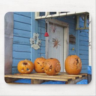 Calabazas talladas de Halloween Alfombrillas De Ratones