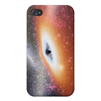 Calabozo en el centro de una galaxia iPhone 4/4S carcasa