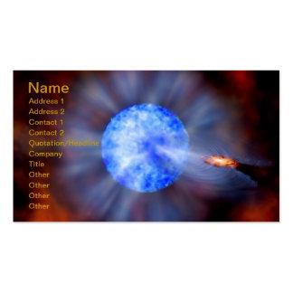 Calabozo galáctico de NASAs Tarjetas De Visita