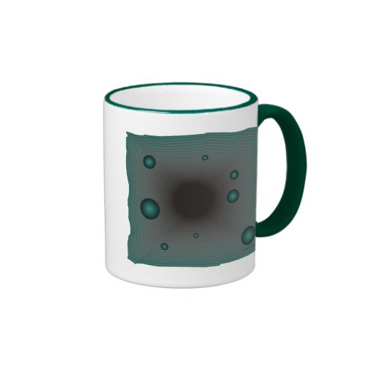 Calabozo grande de la ciencia ficción del wormhole taza de café
