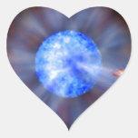 Calabozo M33 en espacio Pegatina En Forma De Corazón