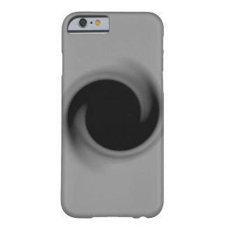 Calabozo que remolina del gris funda de iPhone 6 barely there